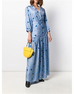 Пышная юбка с принтом Chinti & parker