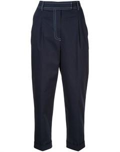 Укороченные брюки с контрастной строчкой Jour/né