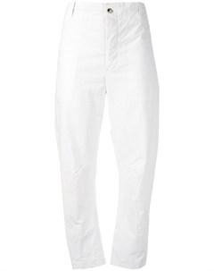 Укороченные брюки в полоску Forme d'expression