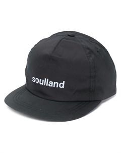Кепка с вышитым логотипом Soulland