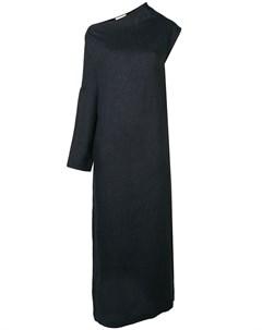 Платье макси на одно плечо Sartorial monk