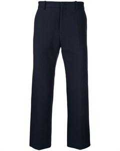 укороченные брюки стандартного кроя No21
