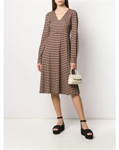 Платье Jasmine с геометричным принтом Mulberry