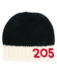 вязаная шапка с логотипом Calvin klein 205w39nyc