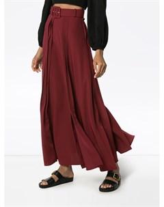 Плиссированная юбка макси N duo