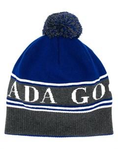шапка бини с логотипом Canada goose