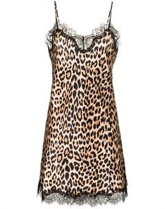 ночная сорочка Scarlett с леопардовым принтом Sainted sisters