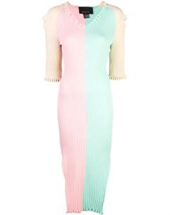 Трикотажное платье в стиле колор блок Neith nyer