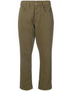 Укороченные зауженные джинсы 6397