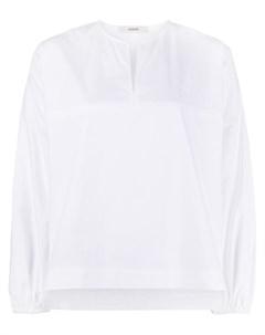 Рубашка с эластичными манжетами и разрезом спереди Odeeh