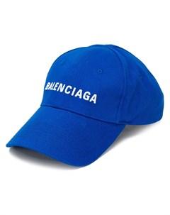 Бейсболка с вышитым логотипом Balenciaga