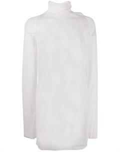 прозрачный пуловер с высоким воротником Bottega veneta