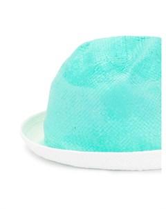 Плетеная шляпа с градиентным эффектом Emporio armani kids
