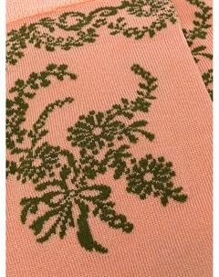 Длинные жаккардовые носки с цветочным узором Simone rocha