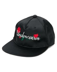 бейсболка с вышитым логотипом Undercover