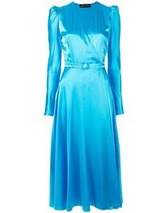 Структурированное платье миди Anna october