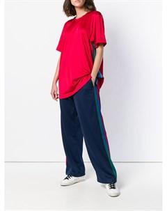 Спортивные брюки с лампасами À la garçonne
