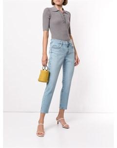 Укороченные джинсы средней посадки Nobody denim
