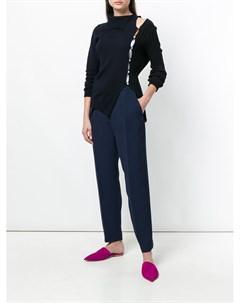 Строгие брюки с завышенной талией Roksanda