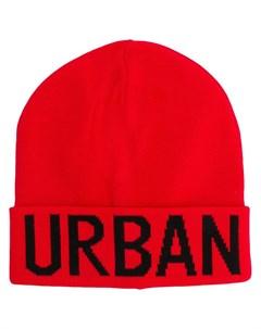 шапка бини с логотипом Les hommes