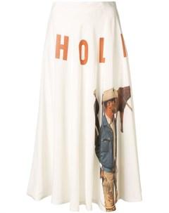 Юбка Texan с принтом Holiday