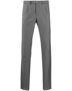 Строгие брюки кроя слим Dell'oglio