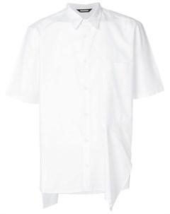 Асимметричная рубашка Moohong