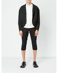Укороченные брюки с подвернутыми манжетами Christopher nemeth