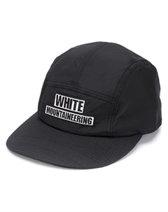 Бейсболка с вышитым логотипом White mountaineering