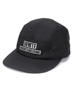 бейсболка с вышитым логотипом White mountaineering