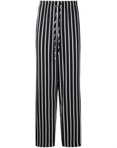 Полосатые брюки с кулиской Esteban cortazar