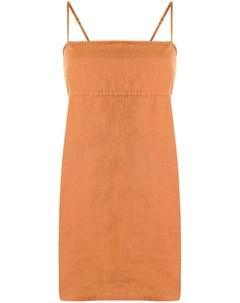 Платье мини с квадратным вырезом Venroy
