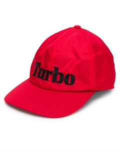 бейсбольная кепка с вышивкой Turbo Msgm