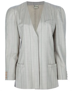 костюм с юбкой в полоску Krizia pre-owned