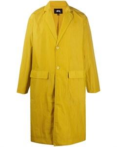 Однобортные пальто Stussy