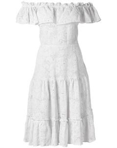 Платье с открытыми плечами Isolda