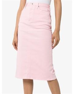 Джинсовая юбка карандаш Hyke