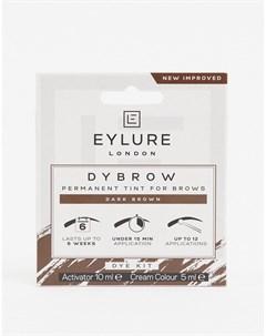 Краска для бровей Pro Brow Dybrow темно коричневый цвет Eylure