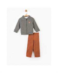 Комплект для мальчика брюки жакет кофта PN14797 Panolino