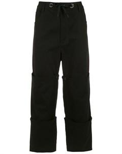 Многослойные брюки À la garçonne