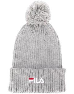 шапка бини с вышитым логотипом Fila
