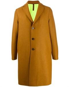 однобортное пальто миди Harris wharf london