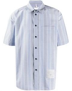 Рубашка в клетку с короткими рукавами Oamc