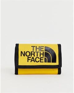 Желтый бумажник Base Camp The north face