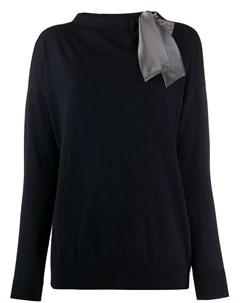 свитер с завязками и вырезами Fabiana filippi