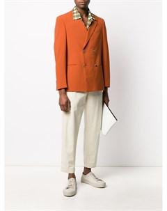 двубортный пиджак Nanushka