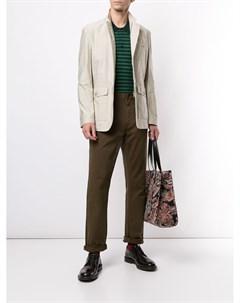 фактурный пиджак с карманами Kent & curwen