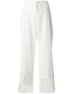Укороченные брюки широкого кроя Goen.j