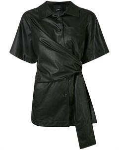 Рубашка с завязками на поясе Goen.j