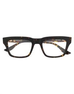 Очки Wasserman в квадратной оправе Dita eyewear